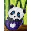 Panda élményfestés