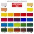 Talens Amsterdam akrilfesték készlet 24x20 ml