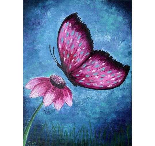 Pillangó élményfestés