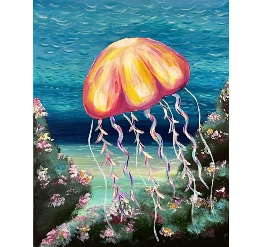 Medúza élményfestés
