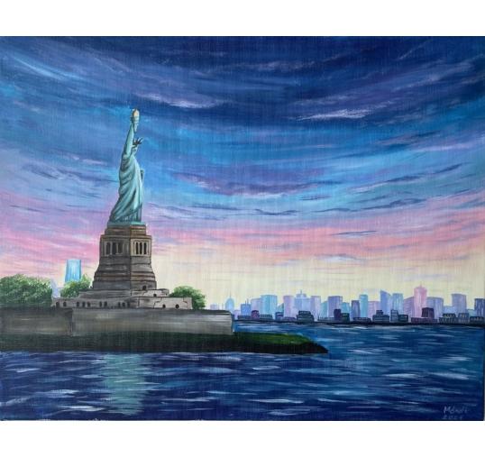 New York élményfestés