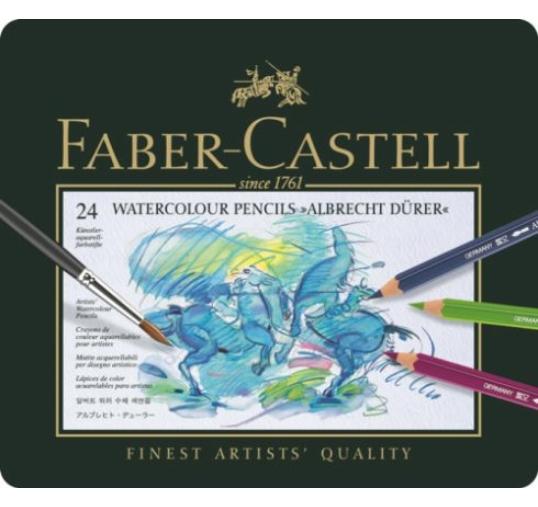 Faber-Castell Albrecht Dürer akvarellceruza készlet, 24db