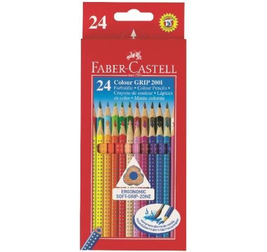 Faber-Castell Grip akvarellceruza készlet, 24db