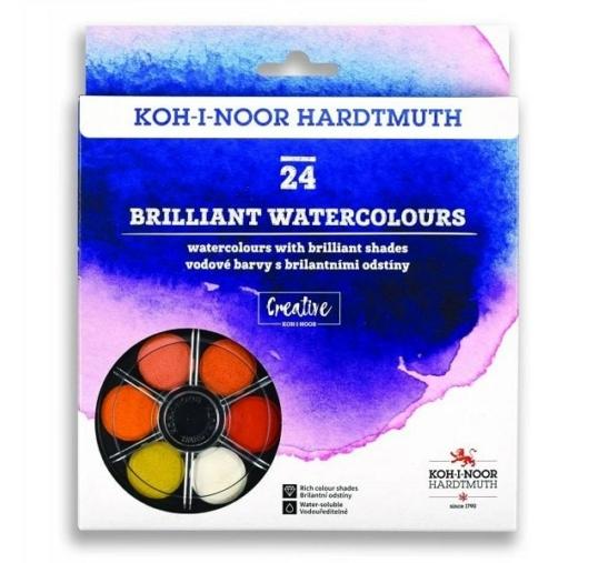 Koh-I-Noor Anilinky vízfesték készlet, 24db